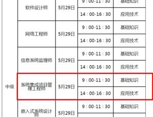 【山东】2021年上软考报名时间通知